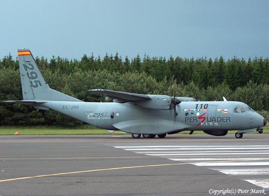 طائرة النقل التكتيكيه Casa C-295 C295